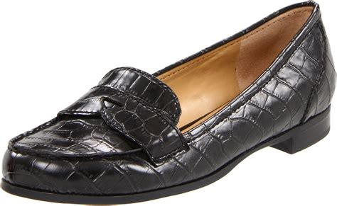 nine west loafer nine west womens succeed slipon loafer in black black
