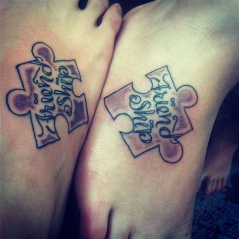 couple puzzle tattoo pin by bandy on ideas pieces