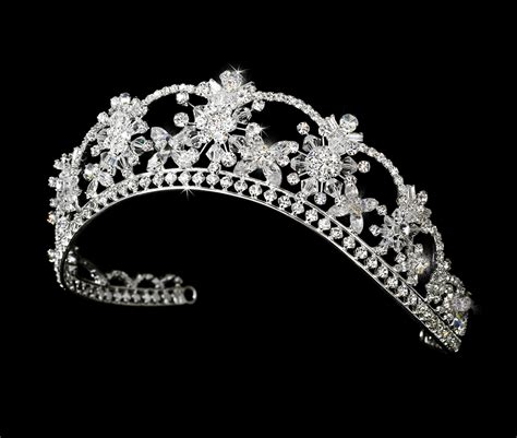 Targaryen Floral by Dazzling Regal Floral Bridal Tiara Bridal Hair