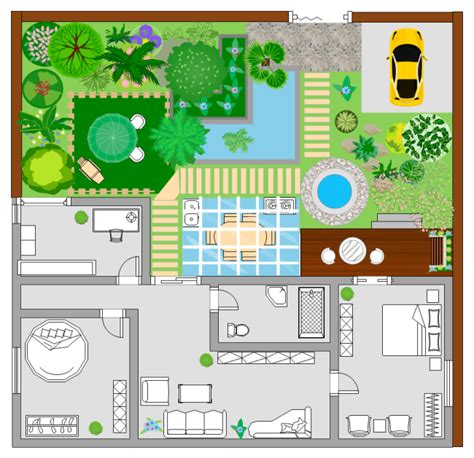 Landscape Design Visio The Best Easy Floor Planning Tool