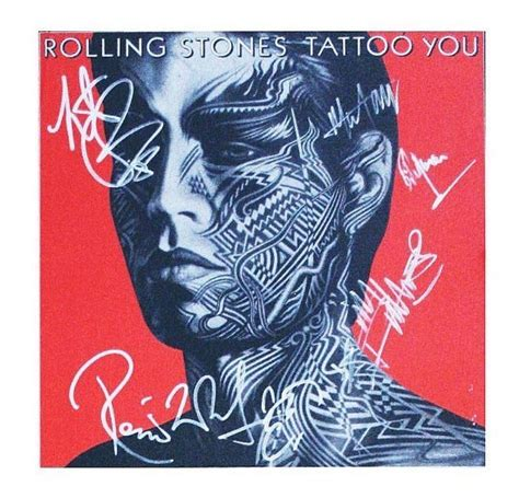 the rolling stones tattoo you rolling stones records 1c rolling stones signed album among highlights at pfc auctions