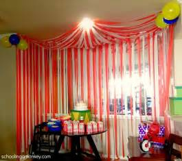 Circus themed birthday party on the cheap invite shop blog