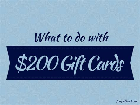 What To Do With Gift Cards - gift cards archives frugalhack me