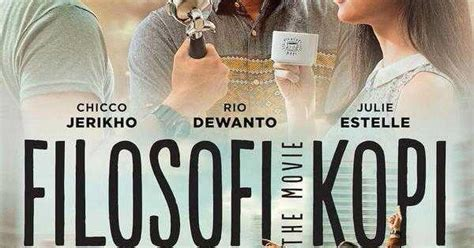 poster film filosofi kopi filosofi kopi 2015 two thumbs up bookworm