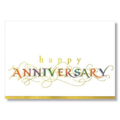 Employee Anniversary Cards