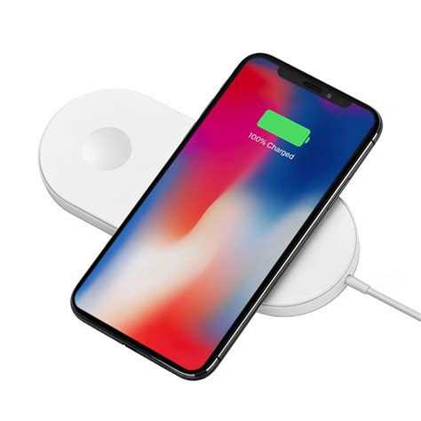 dual wireless charging mat for apple iphone xs 8 plus
