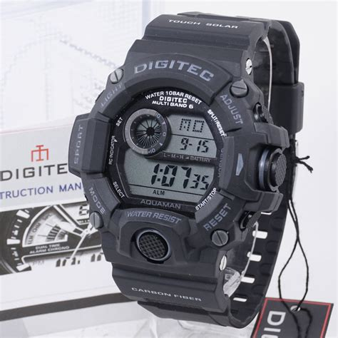 Jam Tangan Digitec Original Pria Digitec 2064 Black List Oren Digitec Dg 2064 Black Grey 187 Jam Tangan Grosir Termurah