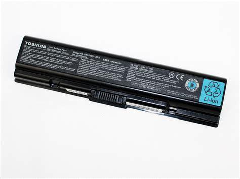 toshiba pa3534u 1brs genuine original laptop battery 44wh 10 8v black orientec