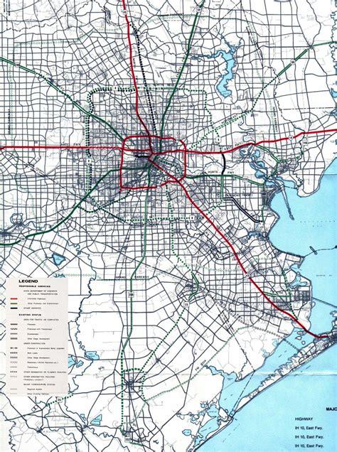 houston freeway map texasfreeway gt houston gt freeway planning maps