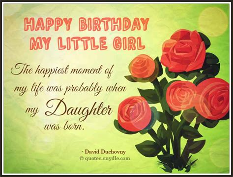 Quotes For Daughters Birthday Birthday Quotes For Daughter Quotes And Sayings
