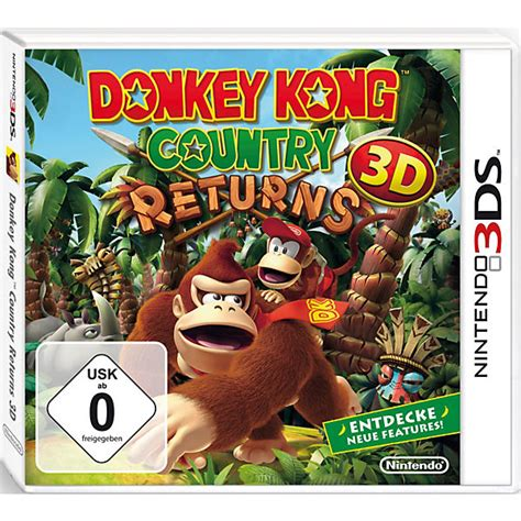 Kaset Kong Country Returns 3d 3ds 3ds kong country returns 3d mario mytoys