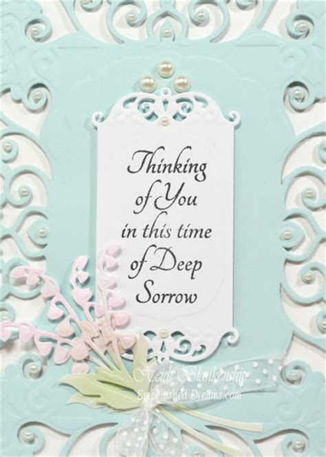 thinking of you card templates for word embellished dreams thinking of you sympathy card with