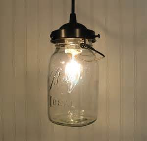 how to make jar pendant lights jar pendant light with vintage quart jar by lgoods