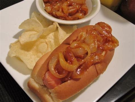 dogs onions new york cart sauce recipe