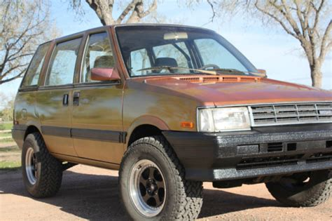 nissan stanza for sale 1986 nissan stanza datsun prairie 4x4 one of a