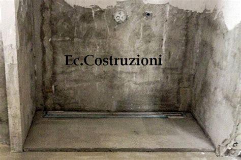 cabina doccia in muratura foto creazione di doccia in muratura di e c costruzioni