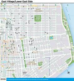 map of east side of us new york city map east and the lower east side