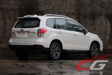 subaru forester xt 2016 review 2016 subaru forester xt philippine car car