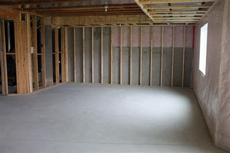framing interior basement walls basement framing and soffit planning