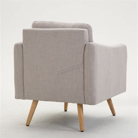 sofas and armchairs ebay foxhunter modern fabric armchair lounge tub chair with