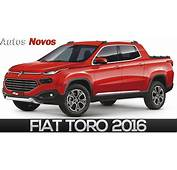 Picape Fiat Toro 2016 Primeiras Fotos  AUTO Photo News