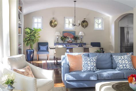 Southern Kitchen Kiawah Island by The Living And Dining Room Kiawah Island Home Makeover