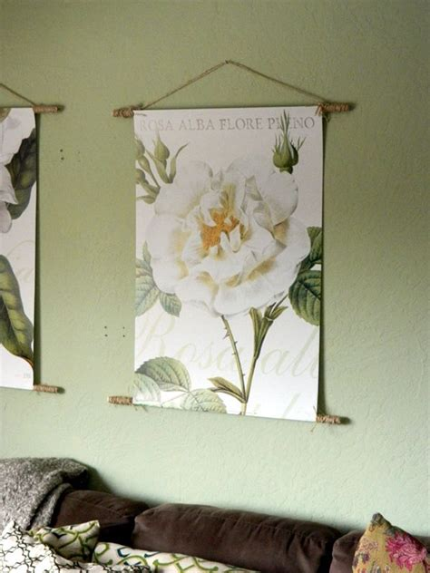 how to hang posters without damaging them create your own dowel hanging poster or tapestry poster