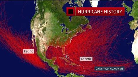 us hurricane history map worst hurricanes in all 50 states since 1900 the weather