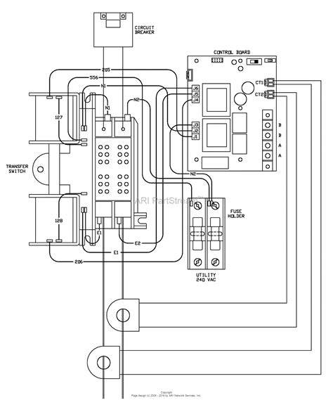 auto transfer switch wiring diagram dejual