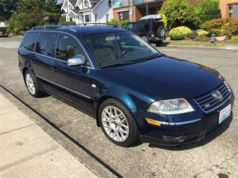 Passat W8 For Sale by 2004 Volkswagen Passat W8 4motion Variant German Cars