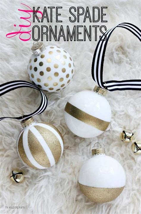 easy diy tree decorations 27 spectacularly easy diy ornaments for your