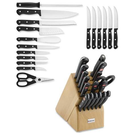 wusthof gourmet 12 piece knife block set natural 9312 w 252 sthof gourmet 18 piece knife block set williams sonoma