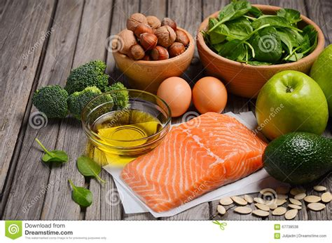 healthy fats vegetarian diet selection of healthy products balanced diet concept