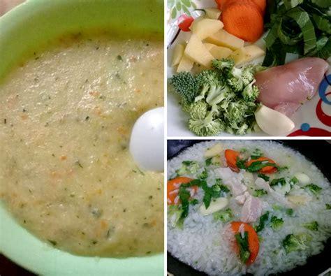 cara membuat nasi tim untuk orang dewasa resipi bubur nasi penuh nutrisi untuk anak yang baru