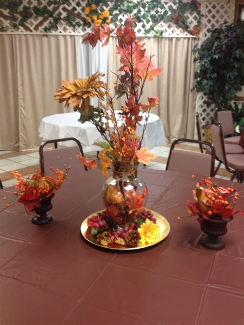 table decorations for church luncheon autumn decoration for pastor appreciation day
