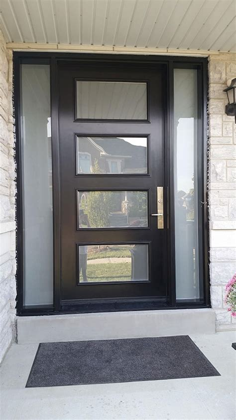 modern entrance door modern exterior door with multi point locks 4 door lites