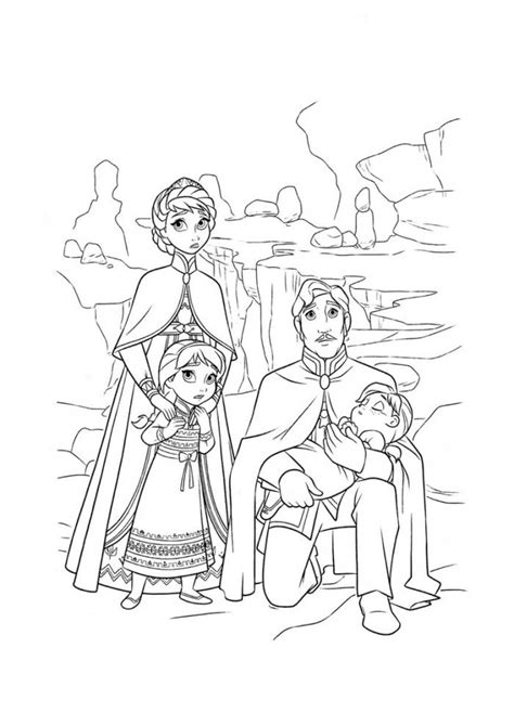 baby elsa and anna coloring pages desenho de fam 237 lia da elsa e anna para colorir tudodesenhos