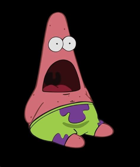 Surprised Patrick Meme - exploitable surprised patrick know your meme