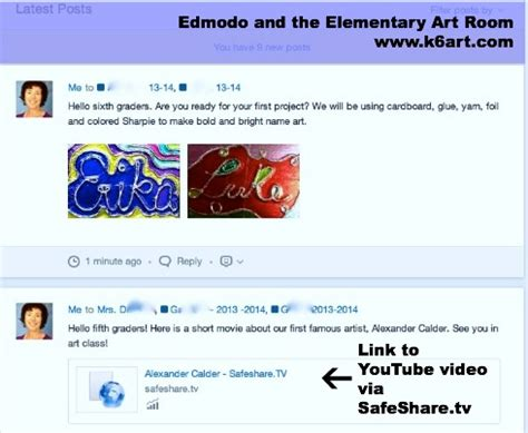 edmodo won t load edmodo and the elementary art room k 6 artk 6 art