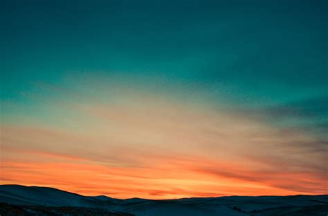 Sun Set wallpaper sunset sky mountains 4k nature 16101