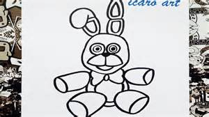 five nights at freddy s coloring book great coloring pages for and adults unofficial edition books como dibujar a bonnie peluche how to draw bonnie