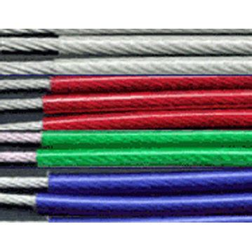 plastic coated steel wire rope