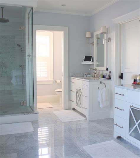 his and her bathroom vanities his and her vanities transitional bathroom molly