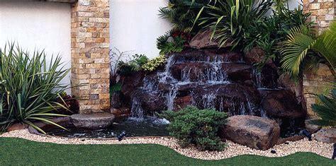 estanques y cascadas en dise 241 o de jardines hd 3d arte y pin cascadas artificiales on pinterest