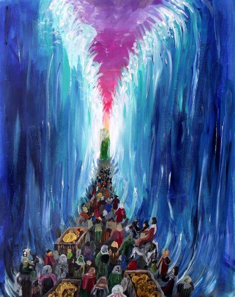 crossing  red sea  hiraku kundeviantartcom bible