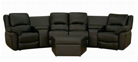 theatre sofa seating broadway home theater seating sectional black stargate