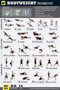 bodyweight exercise poster total