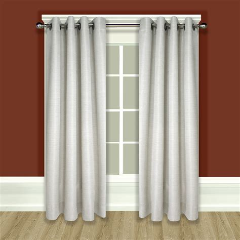 Grommet Top Curtains Grommet Top Curtain Panels Images