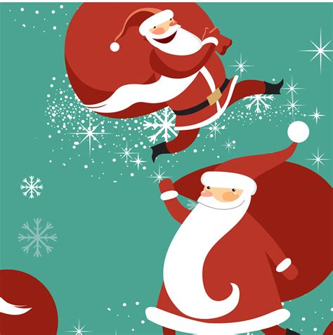cute christmas pattern cute christmas seamless pattern vector 11 vector