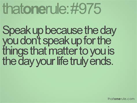 speak up quotes quotes about speaking up quotesgram